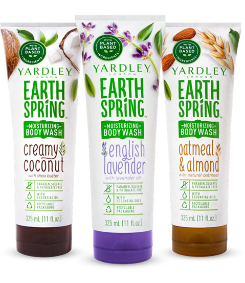 Earth Spring Moisturizing Body Wash Collection