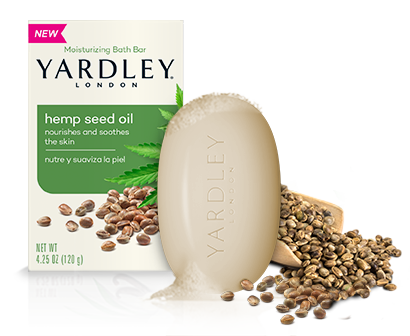 Yardley Hemp Seed Oil Bath Bar
