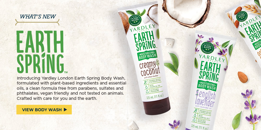 Yardley London Earth Spring Body Wash